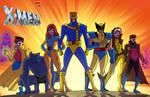 X-Men Animated Bruce Timm Style