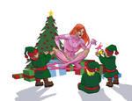 Merry Christmas (Atom) Eve by thecreatorhd