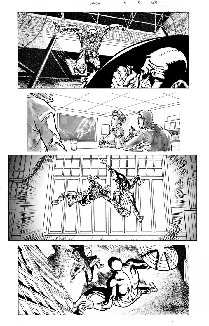 Daredevil 2 Page 5 by thecreatorhd