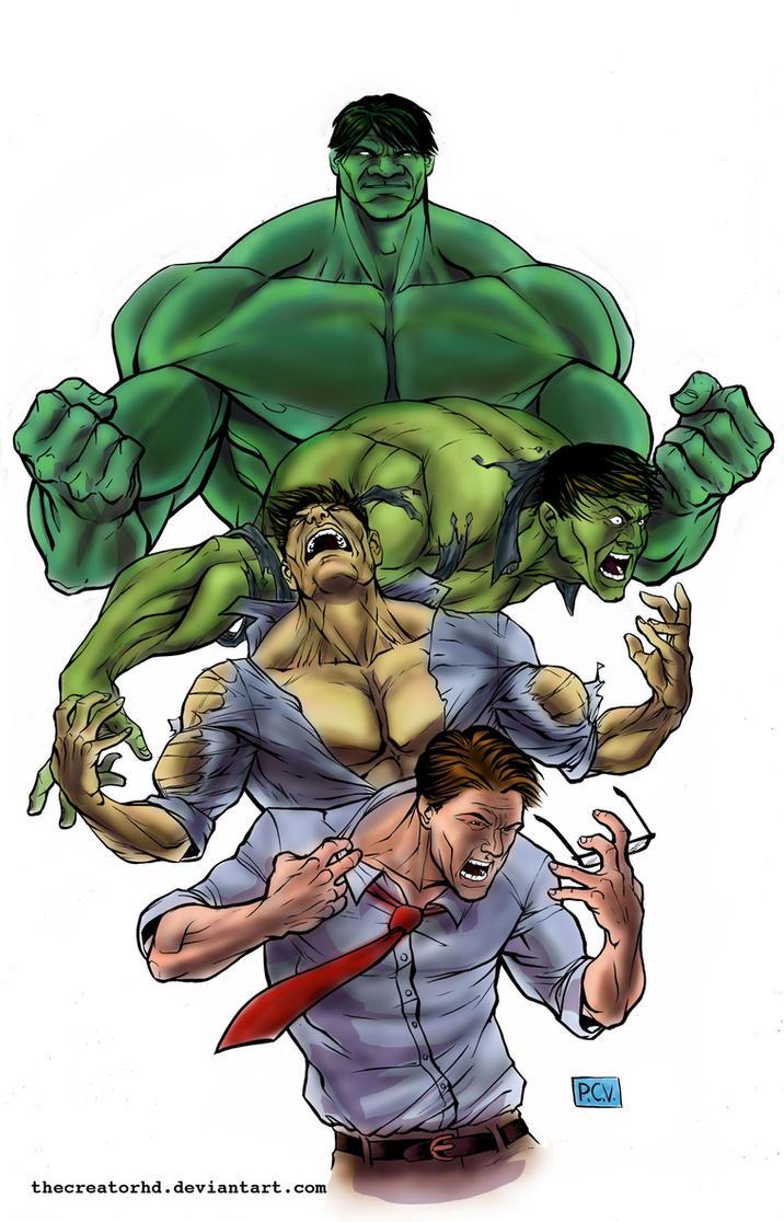 Hulk Color V1 by thecreatorhd