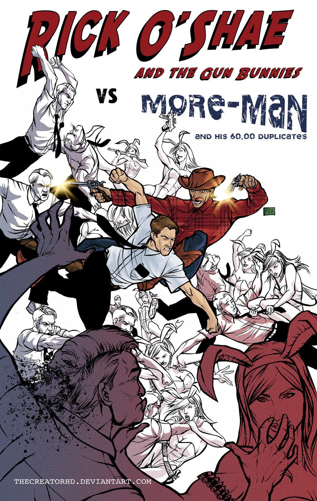 Rick O'Shae vs More-Man by thecreatorhd