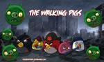 The Walking Dead Birds by thecreatorhd
