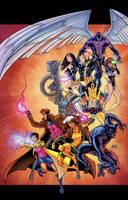 X-Men SDCC 2013 by thecreatorhd
