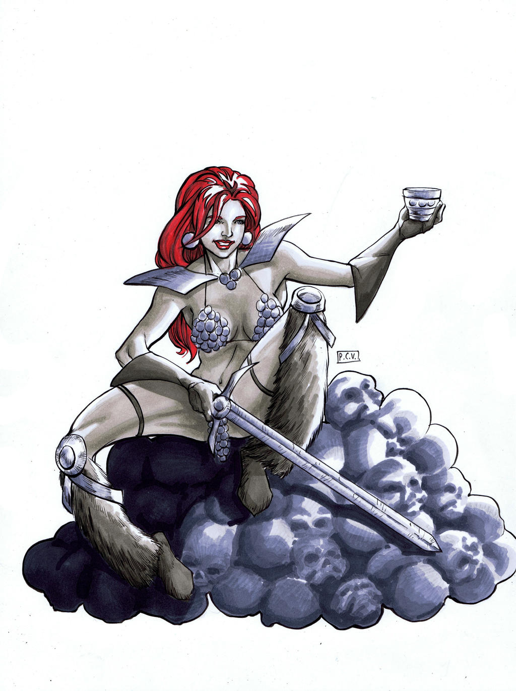 Red Sonja PCC by thecreatorhd