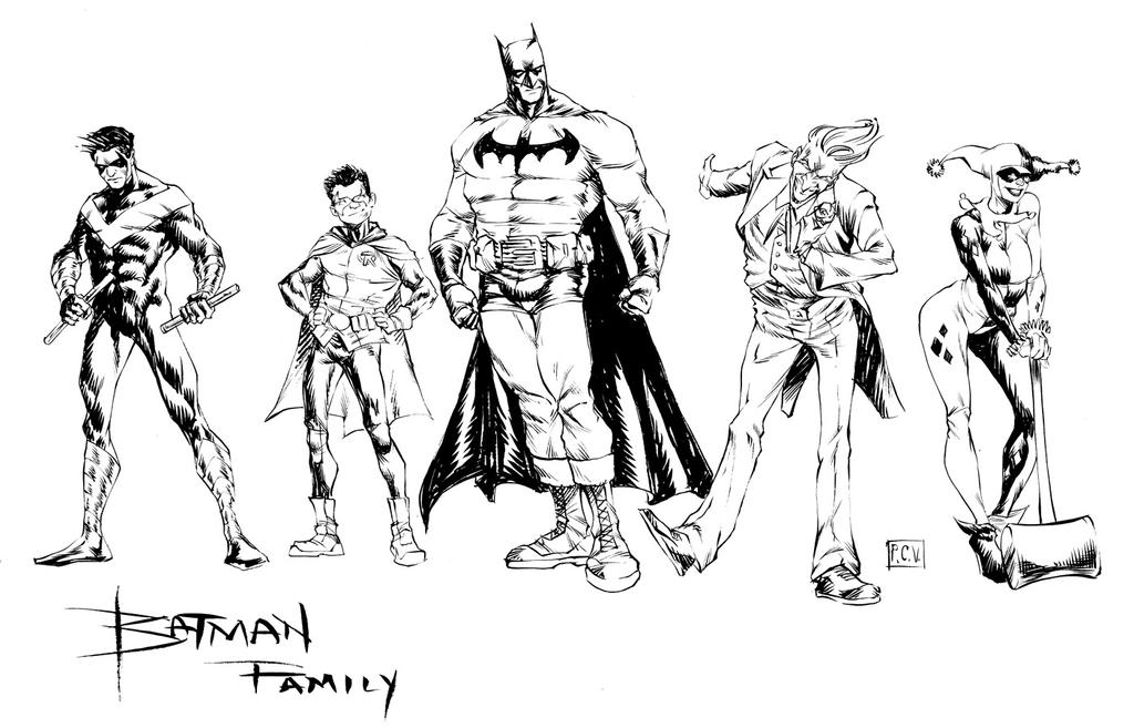 Bat-Family by thecreatorhd