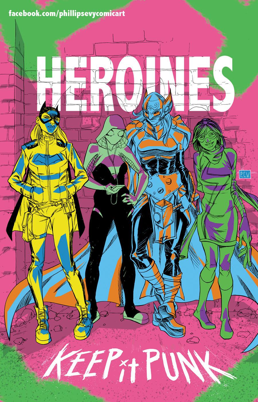 Heroines by thecreatorhd