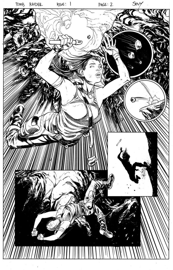 Tomb Raider Issue 1 Page 02 by thecreatorhd