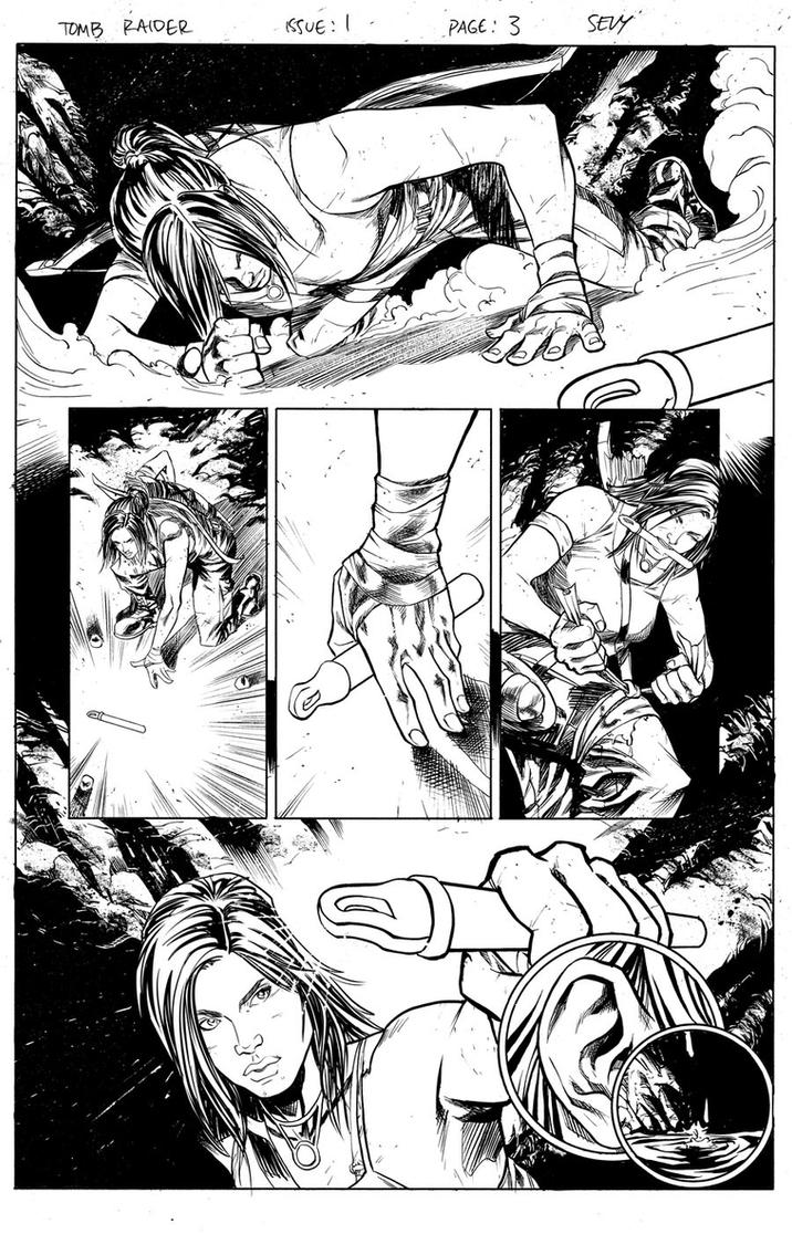 Tomb Raider Issue 1 Page 03 by thecreatorhd