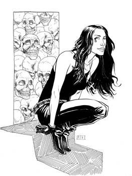 Alanis Morissette as Death Commission