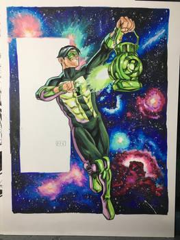 Kyle Rayner Green Lantern Commission