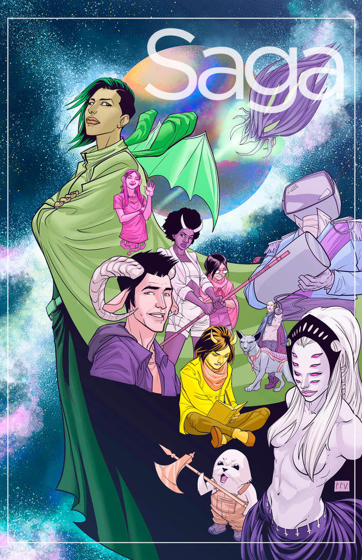 Saga Fanart by thecreatorhd