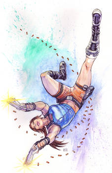 NYCC Charity Auction Tomb Raider Piece