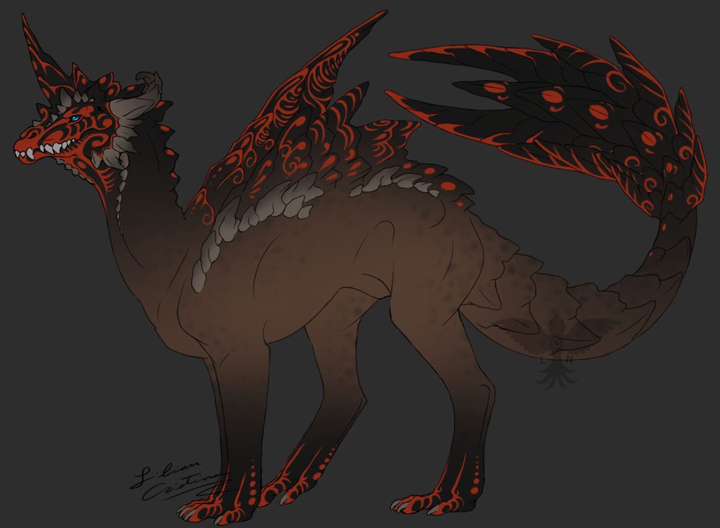 Taerias Dragon Adoptable - CLOSED by Night-Anders