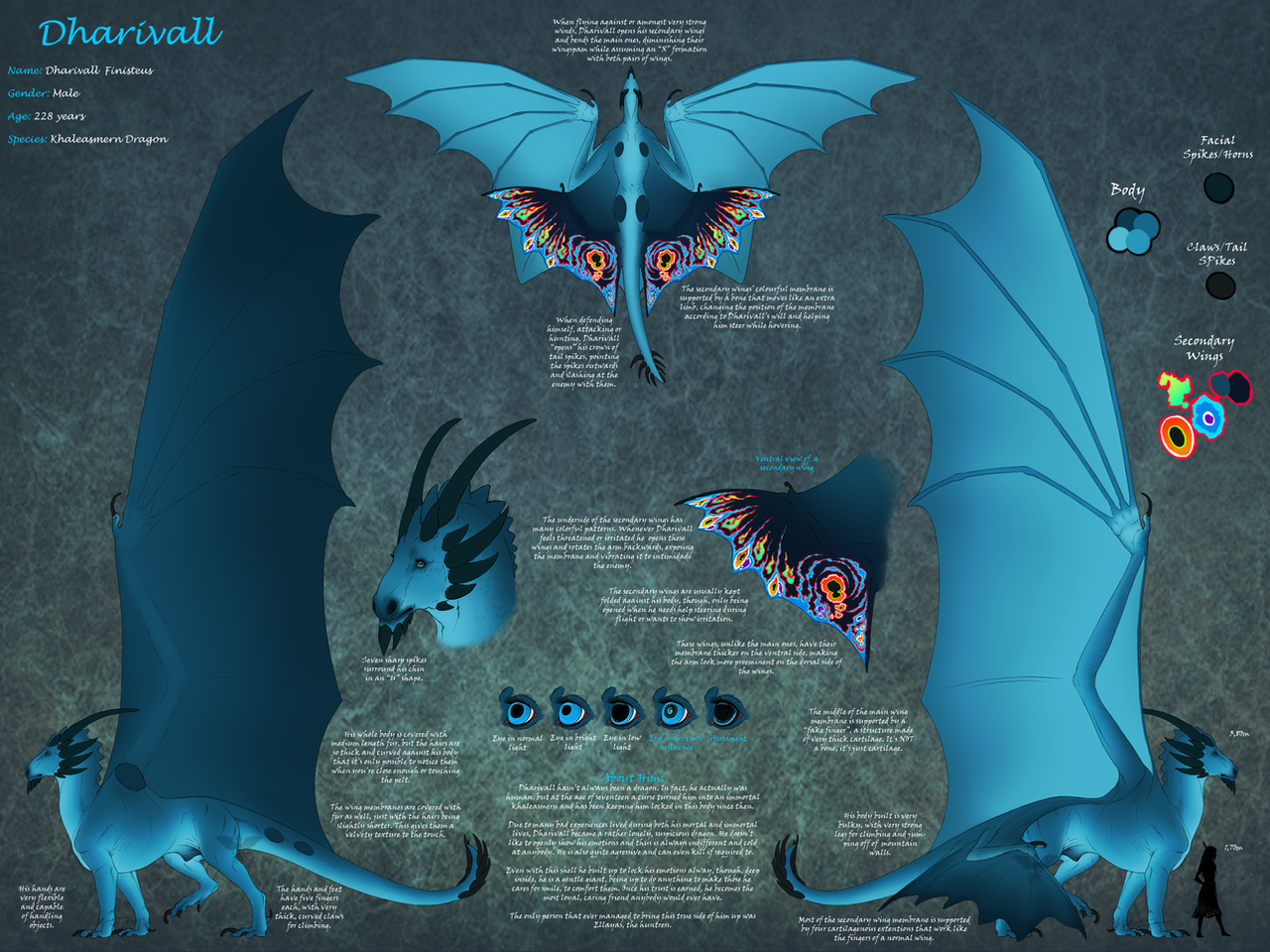 Dharivall Ref. Sheet 2.0 by Night-Anders