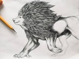 Mighty Werehog by Night-Anders