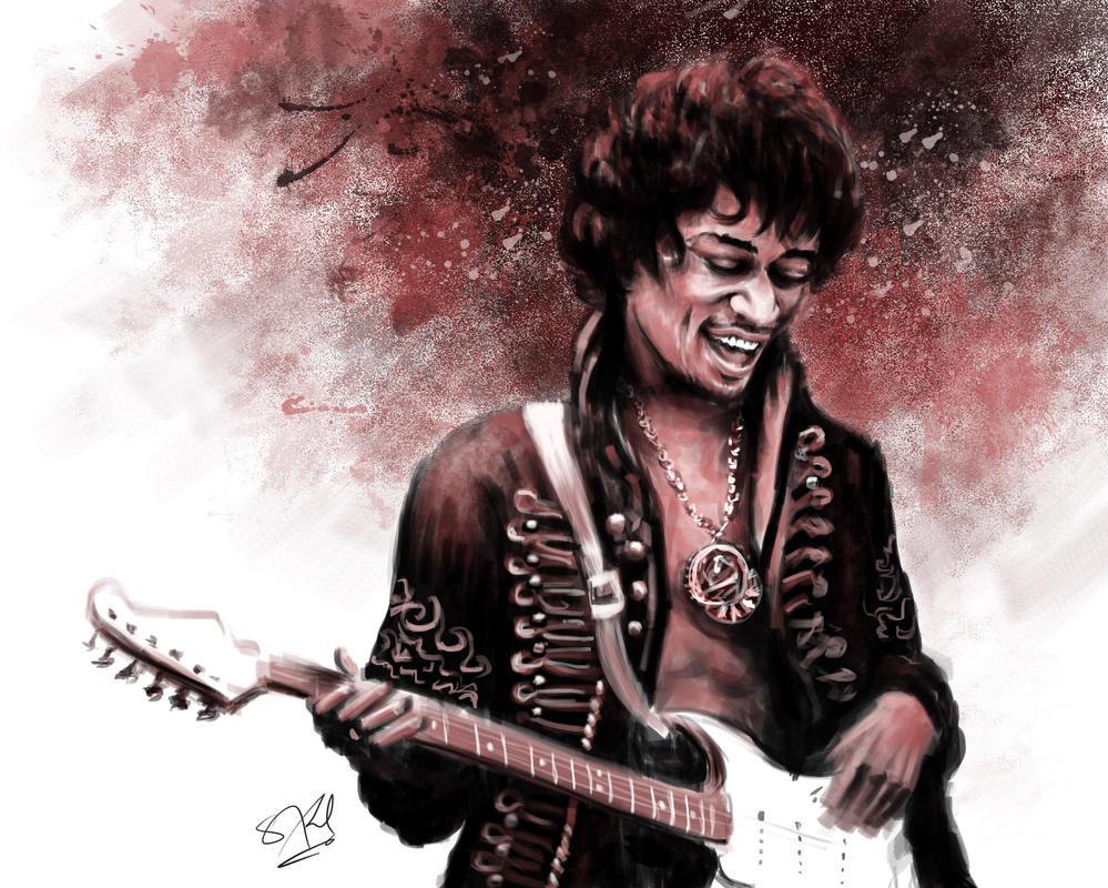 Hendrix by S-A--K-I