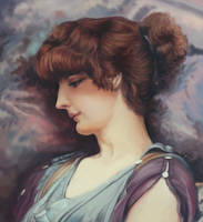 Study after J. W. Godward by S-A--K-I