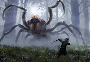 Emperor Spider by S-A--K-I