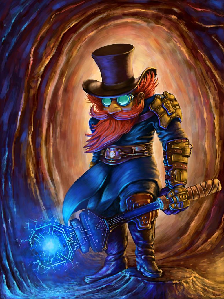Gnome Electrokutor by S-A--K-I