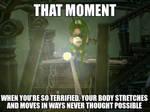 Glitchy Luigi