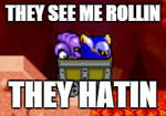 This is how Meta Knight Rolls