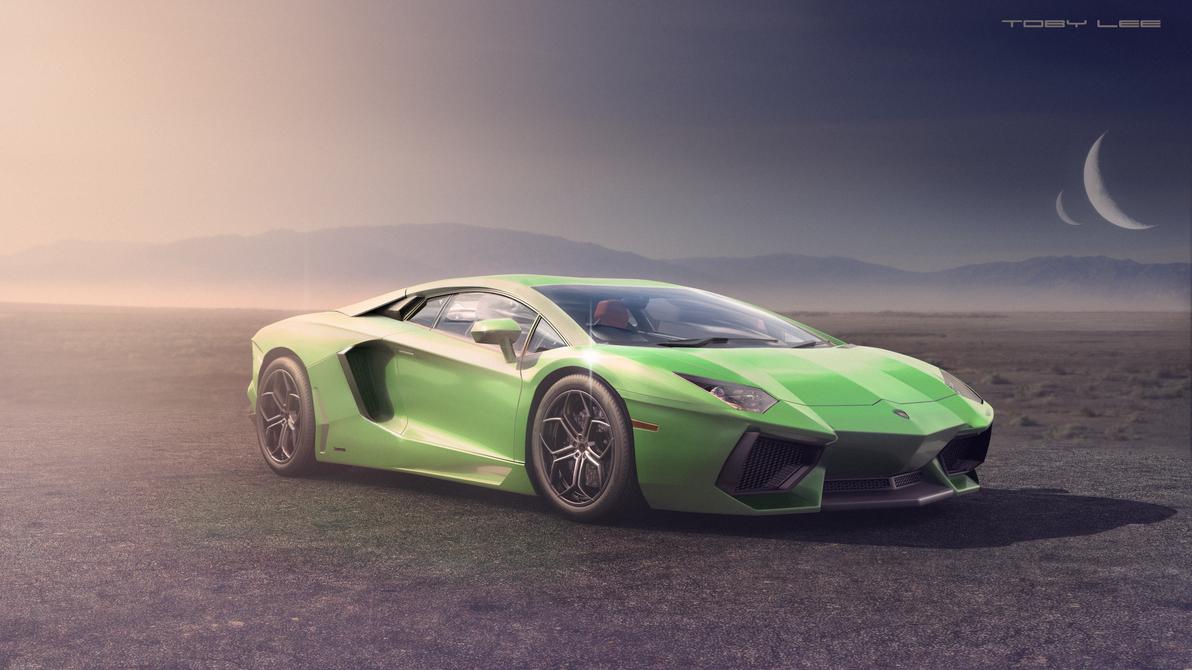 Lamborghini Aventador by ColdFusion20