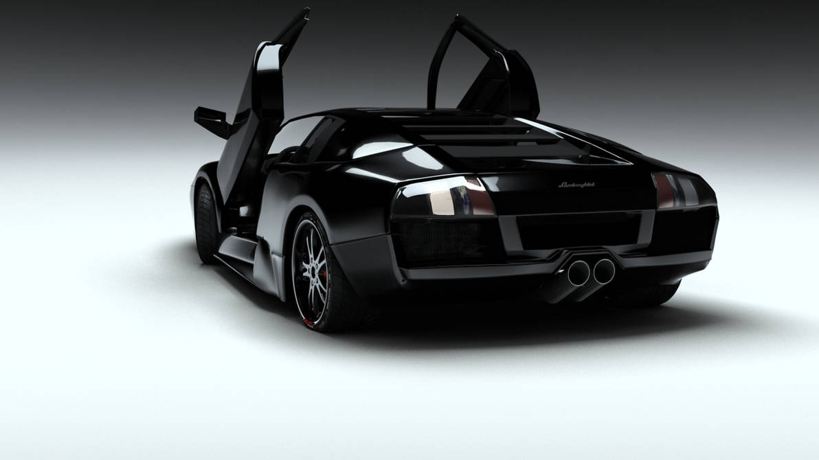 Lamborghini Murcielago Back By Coldfusion20 On Deviantart