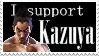 Kazuya Mishima stamp by Nina-Mishima