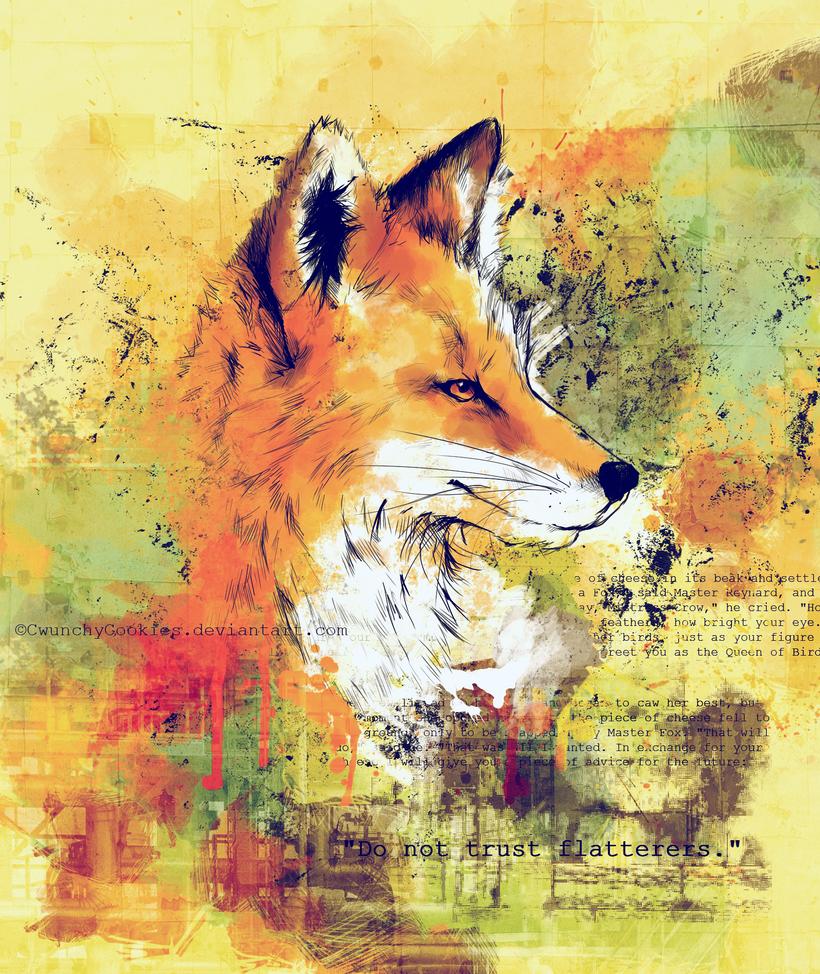 Not-so-rainbow Fox by AgentWaterlemon