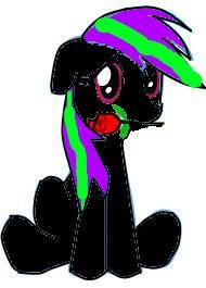random pictures of random pony's c: Dark_is_in_love____by_dark_the_hedgewolf-d5zqmk5