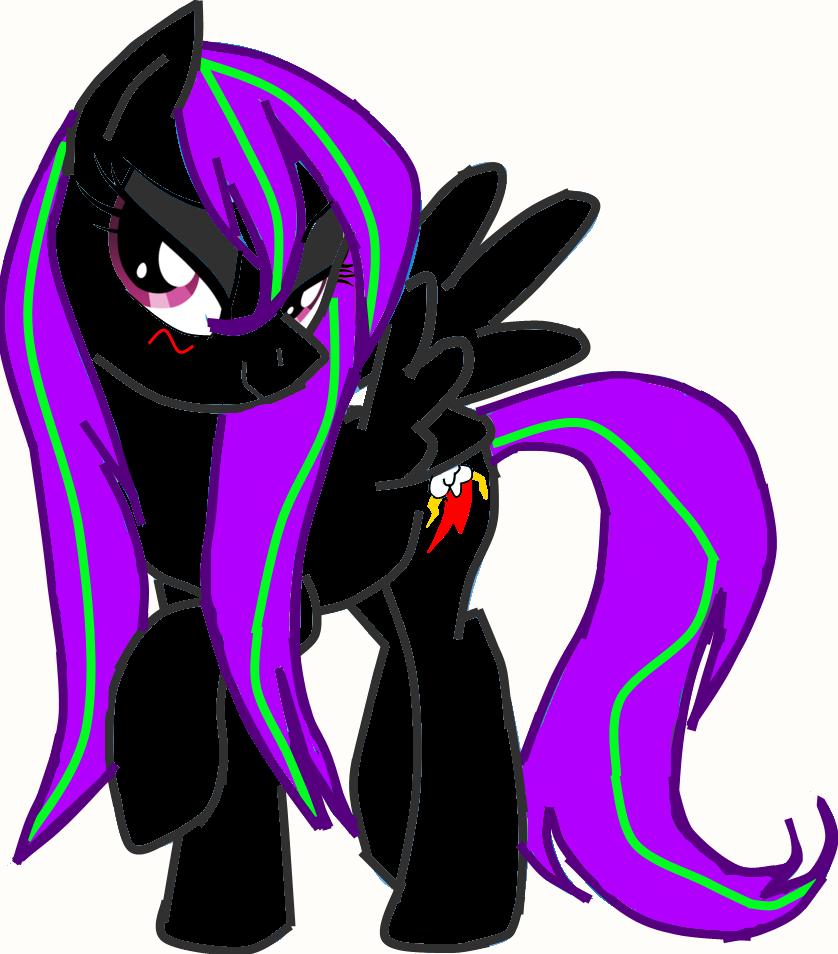 random pictures of random pony's c: Wet_mane_dark_by_dark_the_hedgewolf-d67dmia