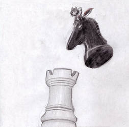 30 days challenge day 26: mounting horse
