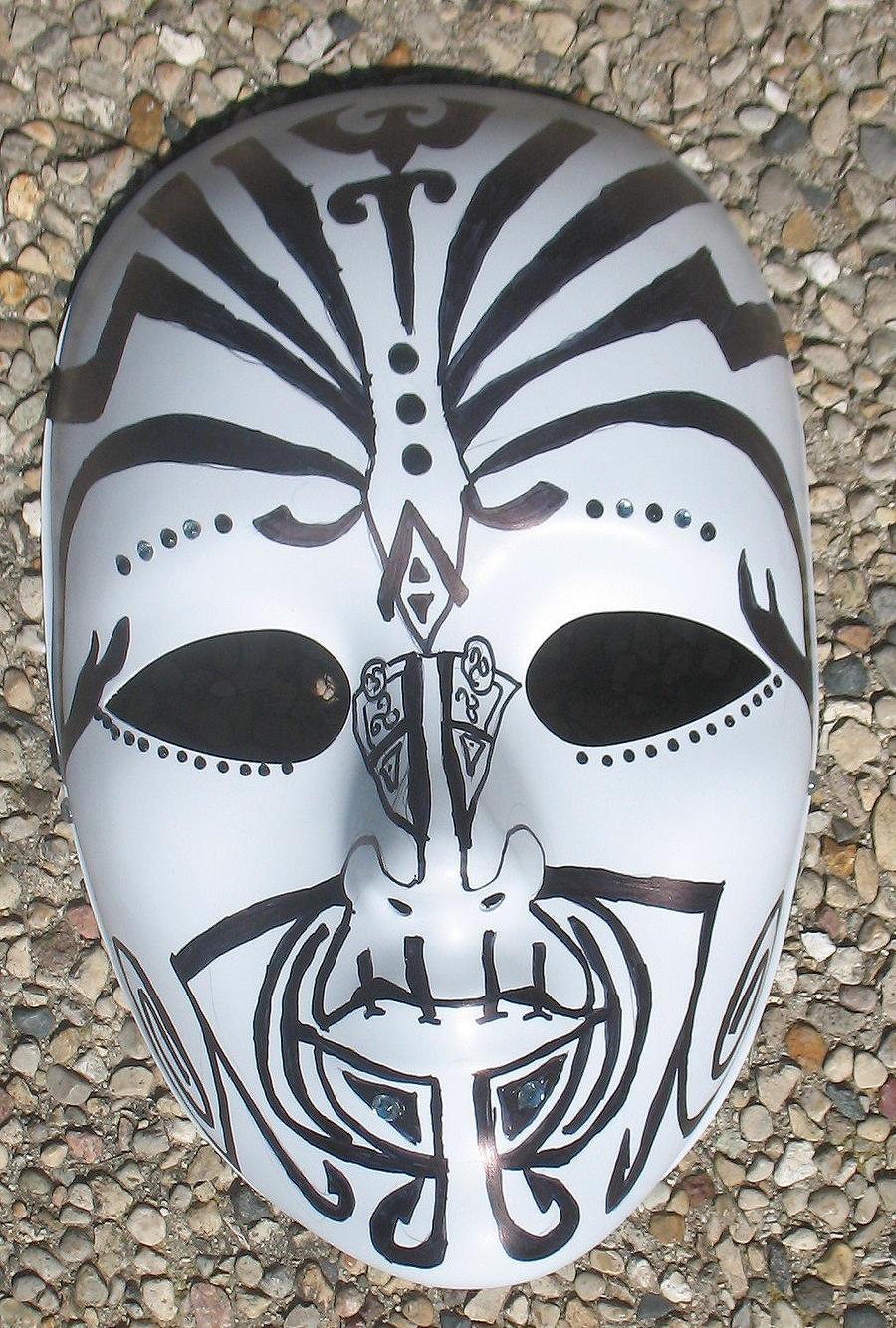 Maori Mask By ChanJlingHerd On DeviantART