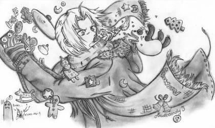 ed vs xiao-mei by skullcandy3