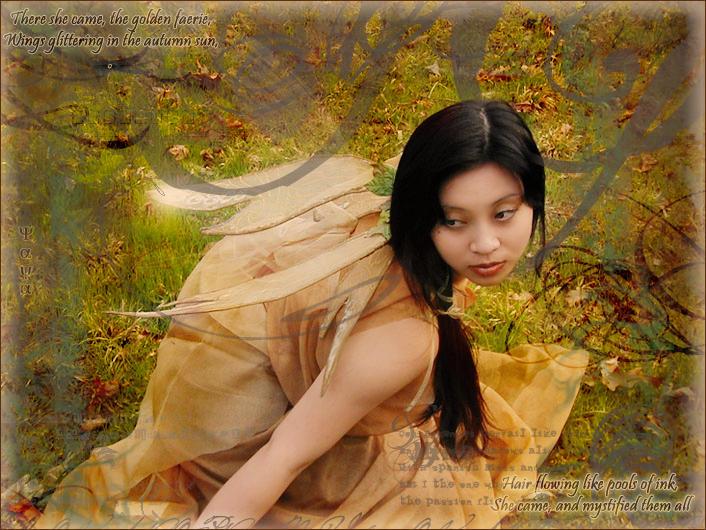 Autumn Faerie by bijoyuna