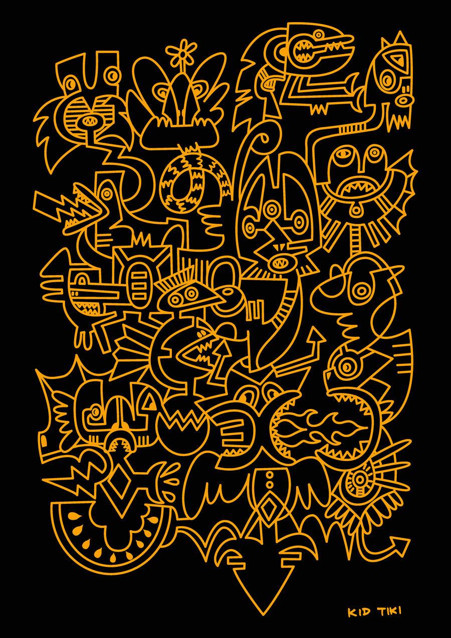 Midnight Orange By KID TIKI