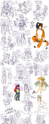 Doodles 68?? All the cookie ships LMAO by NightSaber