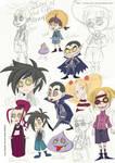 School for Vampires Scribbles