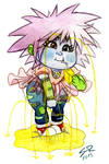 Juicy Zushie - Garbage Pail Kid