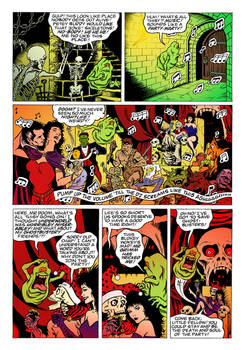 Ghostbusters Comic-Page (Color Practise)