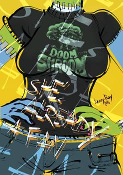 Zushies DOOM SHROOMS Fan-Shirt