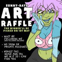 Sunny-Rays ART RAFFLE by Sunny-X-Ray