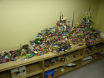 Huge Lego ship - Top size view