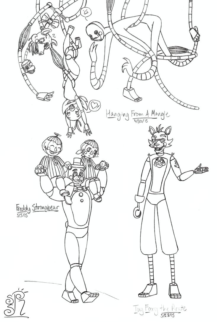 fnaf doodles 2 by sunnysunrise on deviantart