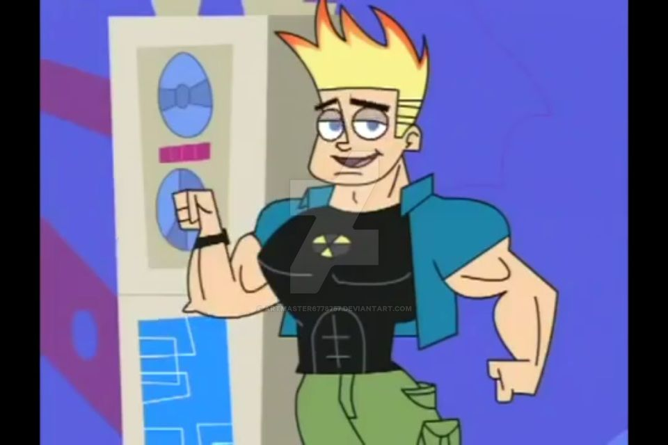 Johnny Test Muscle 28 By Artmaster6778757 On DeviantArt