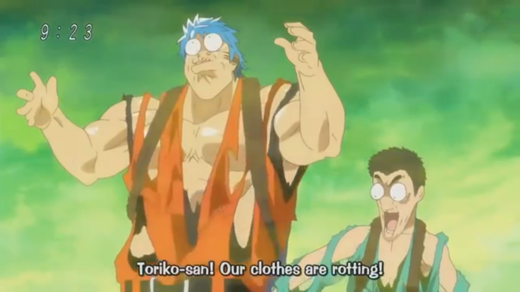 Toriko and Komatsu clothes rotting 5 by Artmaster6778757