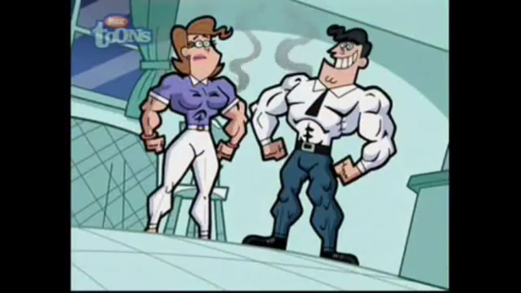 timmy turner parents muscular by Artmaster6778757