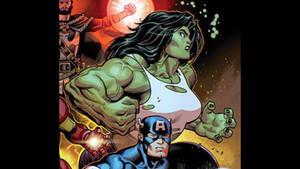 Avengers (2018-) ISSUE #1 she hulk