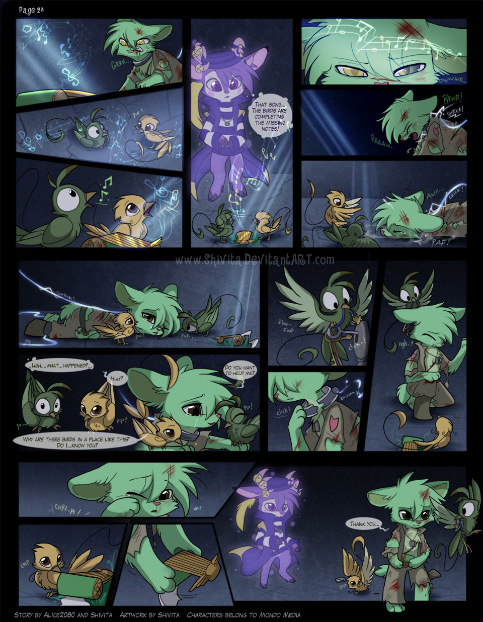 Sweet Lullaby Ch. 4 Pag - 24 by Shivita