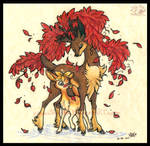 Deerling and Sawsbuck